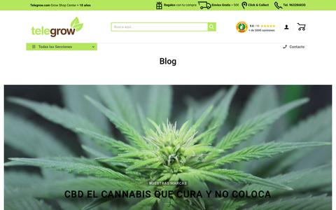 Screenshot of Blog telegrow.com - Blog ⋆ Telegrow.com - captured Dec. 12, 2018
