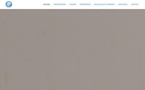 Screenshot of Home Page g2mobility.com - g2mobility - captured Sept. 26, 2014