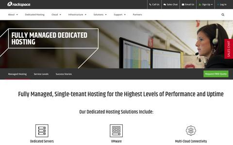 Managed Hosting Services & Solutions | Rackspace