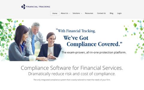 Compliance Software for Financial Services