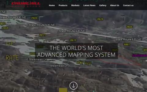 Screenshot of Home Page churchillnavigation.com - Churchill Navigation | Augmented Reality System - captured Jan. 19, 2015
