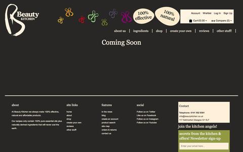Screenshot of Blog beautykitchen.co.uk - Blog - captured Nov. 22, 2016