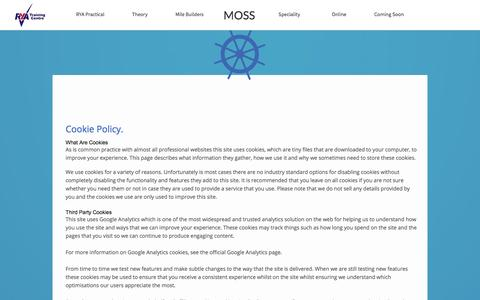 Screenshot of Terms Page moss-sailing.nl - Terms&Conditions - captured July 21, 2016