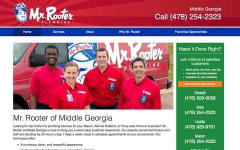 Screenshot of Testimonials Page mrrooter.com - Mr. Rooter is Your Plumbing Repair Company   Mr. Rooter - captured Sept. 22, 2014