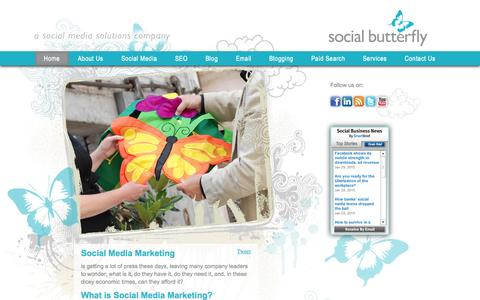 Social Butterfly Marketing - an online marketing solutions company
