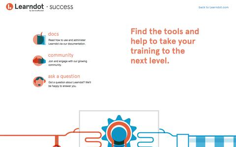 Learndot Success Tools