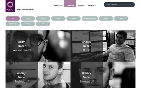 Screenshot of Team Page ostc.com - People - captured Sept. 23, 2016