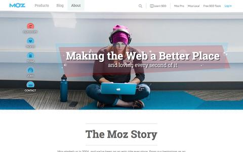 About Moz: What We Do and How We Got Here. - Moz