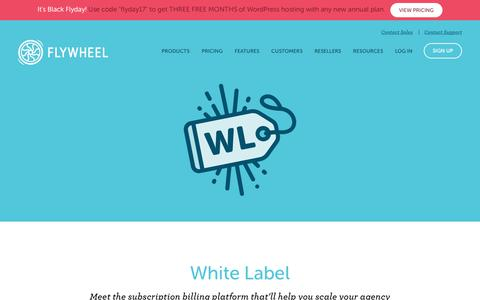 Flywheel |   White Label