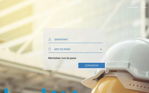 Screenshot of Login Page kaliti.fr - Login - captured Jan. 18, 2020