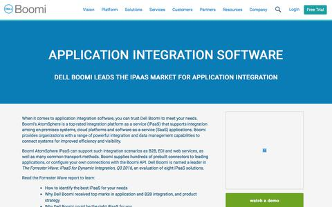 Application Integration Software - Dell Boomi