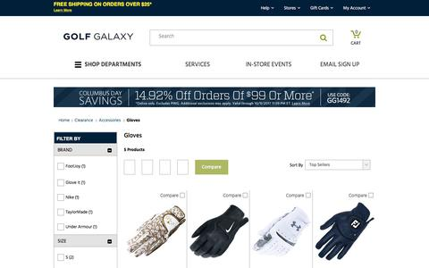 Discount Golf Gloves- Titleist, FootJoy & More | Golf Galaxy