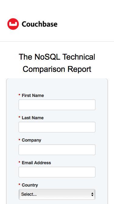 NoSQL Technical Comparison Report