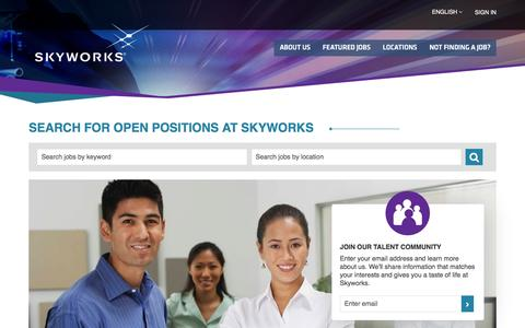 Careers at Skyworks
