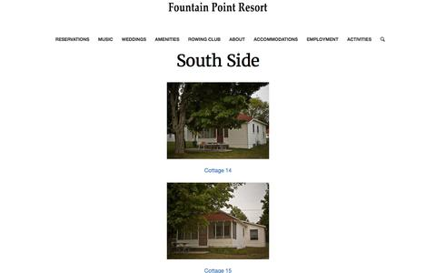 South Side – Fountain Point Resort