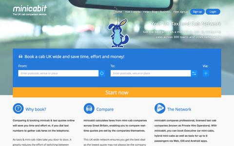 minicabit.com - Book Cheap Mini Cab & Taxi Online