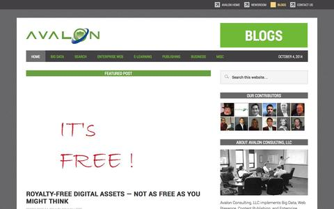 Blogs - Avalon Consulting, LLC