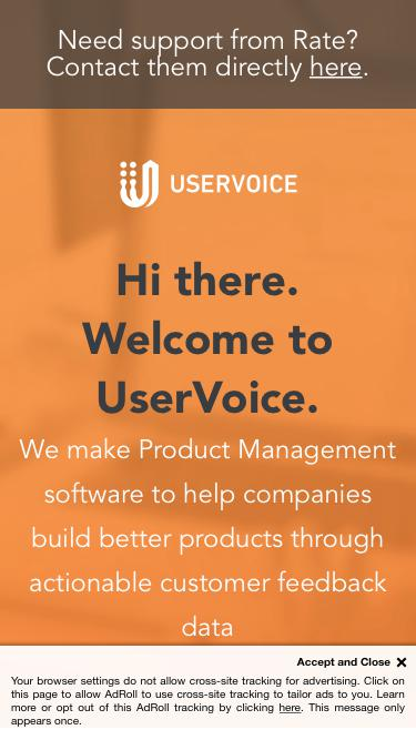 Powered By UserVoice