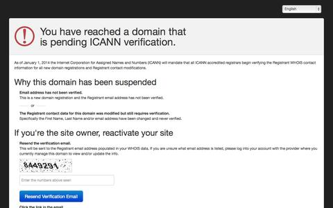 Screenshot of Login Page animalcontrolhq.com - Registrant WHOIS contact information verification - captured Sept. 30, 2014