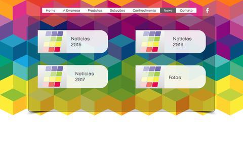 Screenshot of Press Page colormix.net.br - Colormix Especialidades | Notícias - captured Aug. 17, 2017