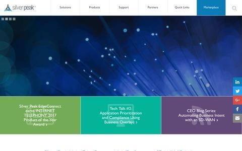 SD-WAN & Hybrid WAN with Broadband Leaders   Silver Peak