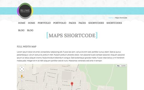 Screenshot of Maps & Directions Page vii-ad.com - Maps Shortcode | Sevan A Designs - captured Oct. 29, 2014