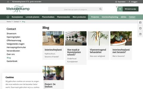 Screenshot of Blog plantenman.nl - Blog | Plantenman.nl | Plantenman.nl - captured Dec. 20, 2018