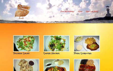 Screenshot of Menu Page rustypelicanthailand.com - Menu «  Rusty Pelican Thailand - captured March 1, 2016