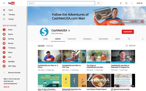 CashNetUSA - YouTube