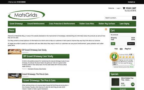 Screenshot of Blog matsgrids.co.uk - MatsGrids - Blog - captured Nov. 27, 2016