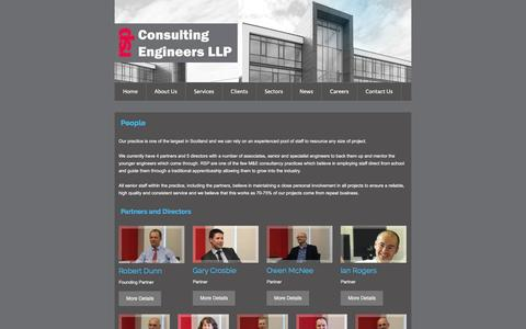 Screenshot of Team Page rsp.net - RSP Consulting Engineers LLP - People - captured Feb. 22, 2016