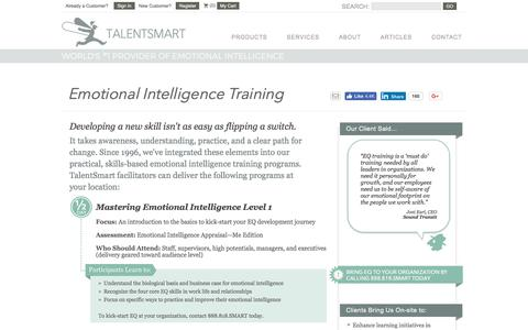 Emotional Intelligence Training | TalentSmart