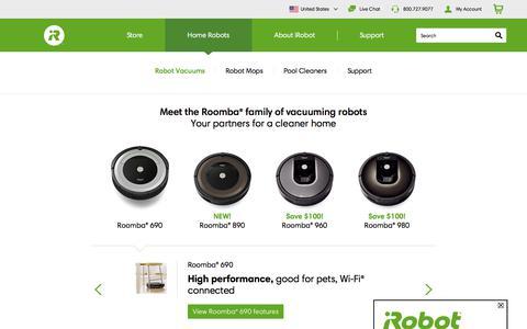 Roomba Robot Vacuum | iRobot