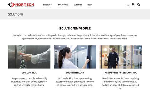 Screenshot of Team Page nortechcontrol.com - People | Nortech Control Systems Ltd - captured Nov. 8, 2017