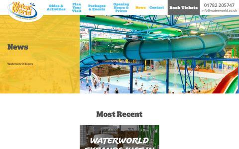 Screenshot of Press Page waterworld.co.uk - News – WaterWorld - captured Oct. 19, 2018