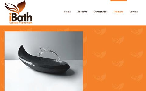 Screenshot of Products Page ibath.com.au - Products - iBath - captured June 8, 2017