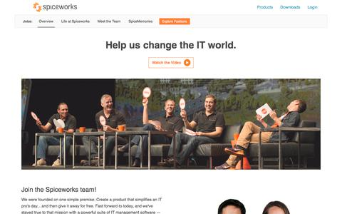 Jobs for IT Revolutionaries | Spiceworks