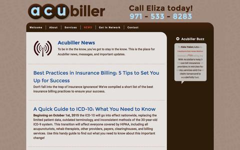 Screenshot of Press Page acubiller.com - Acubiller News Archives – Acubiller - captured Feb. 5, 2016