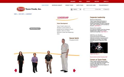 Tyson Foods: Leadership