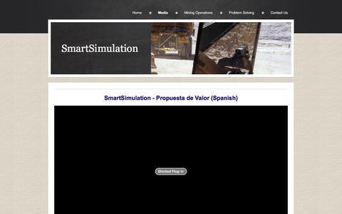 Screenshot of Press Page smartsimulation.ca - SmartSimulation - captured Jan. 12, 2016