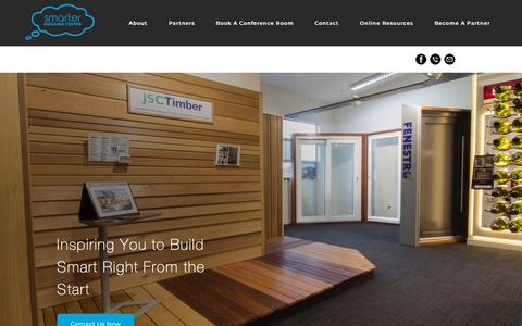 Screenshot of About Page smarterbuilding.co.nz - About the Smarter Building Centre - captured Oct. 18, 2018