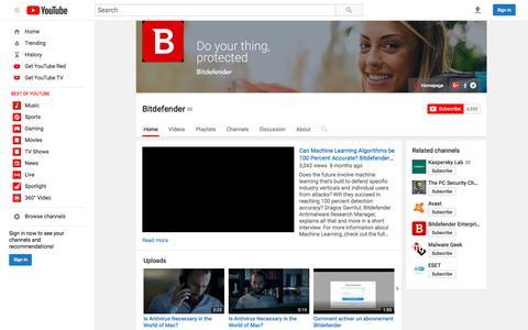 Bitdefender  - YouTube