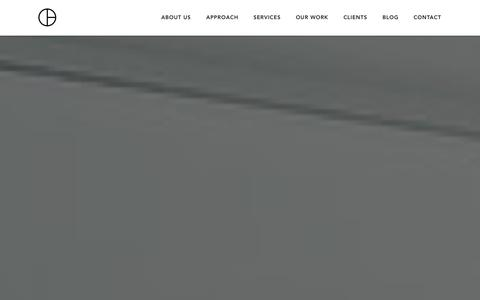 Screenshot of Home Page cutlerdc.com - Cutler | Interior Design + Project Management - captured Oct. 3, 2014
