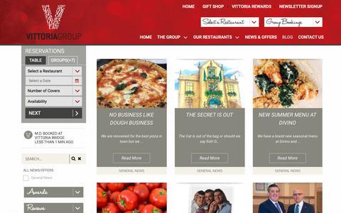 Screenshot of Blog vittoriagroup.co.uk - Blog - Vittoria GroupVittoria Group - captured Oct. 20, 2018