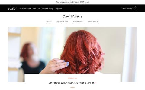 Color Mastery—Articles & Videos To Become A Total Color Pro