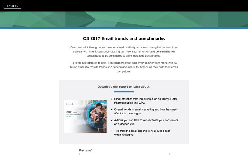 Q3 2017 Email trends and benchmarks