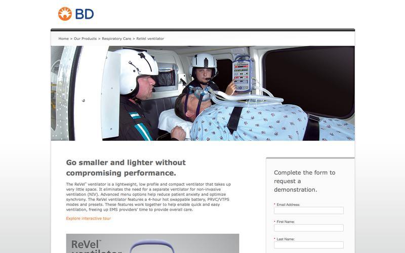 ReVel ventilator | BD
