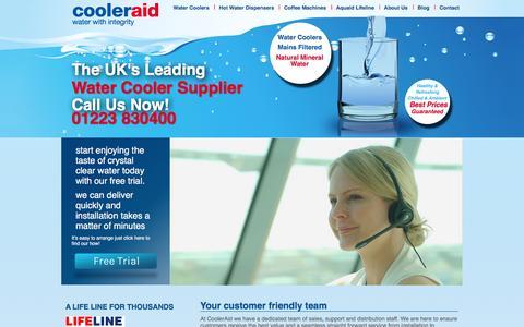 Screenshot of Team Page cooleraid.co.uk - Meet The Team - Cooleraid Water Coolers - captured Jan. 31, 2016