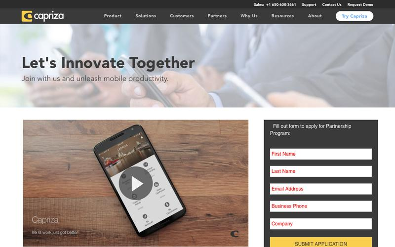 Let's Innovate Together | Capriza