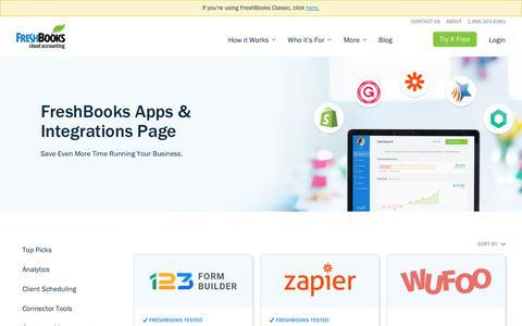 Lead Tracking Integrations for New FreshBooks  | FreshBooks